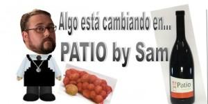vinos y patatas patio
